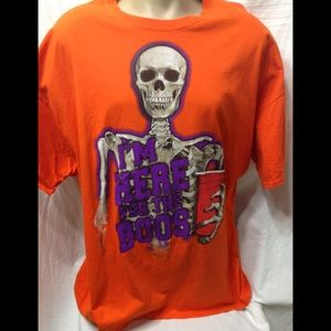 Men's size 3XL Skeleton graphic tee